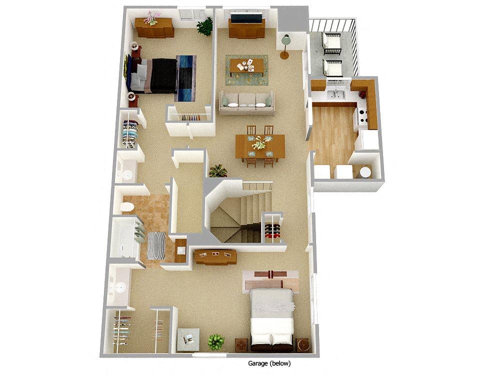 Spruce Floor Plan 1
