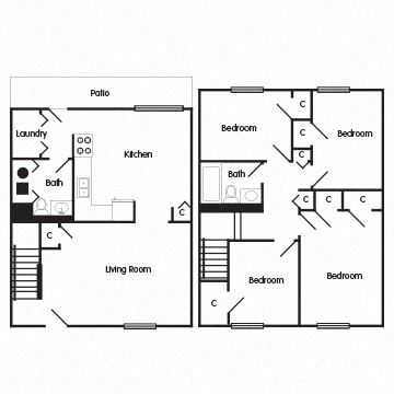 4 Bedroom Townhome: The Darcy