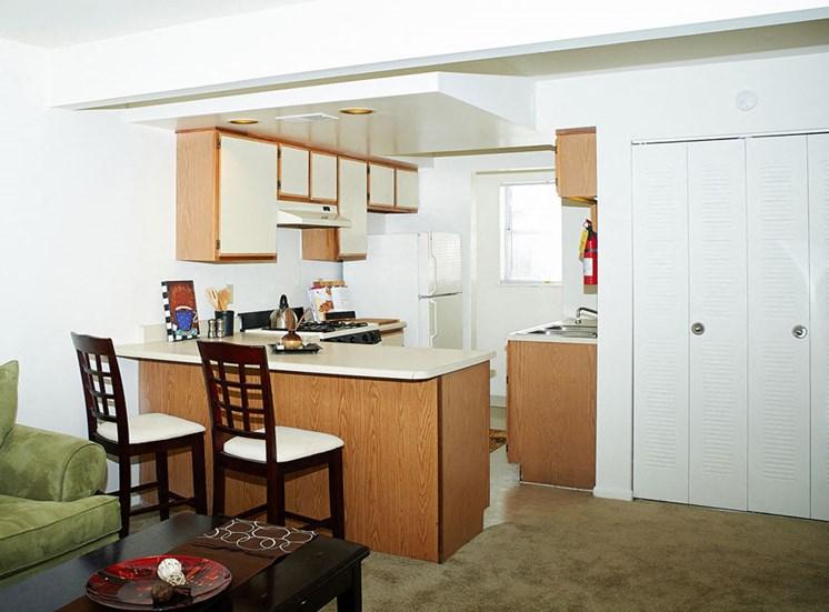 Kitchen at Windsor Park Apartments