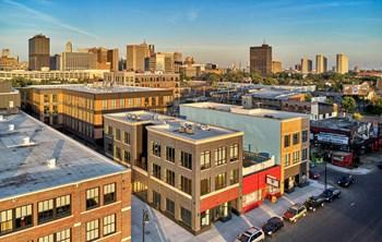 2100 Trumbull Avenue Studio Apartment for Rent Photo Gallery 1
