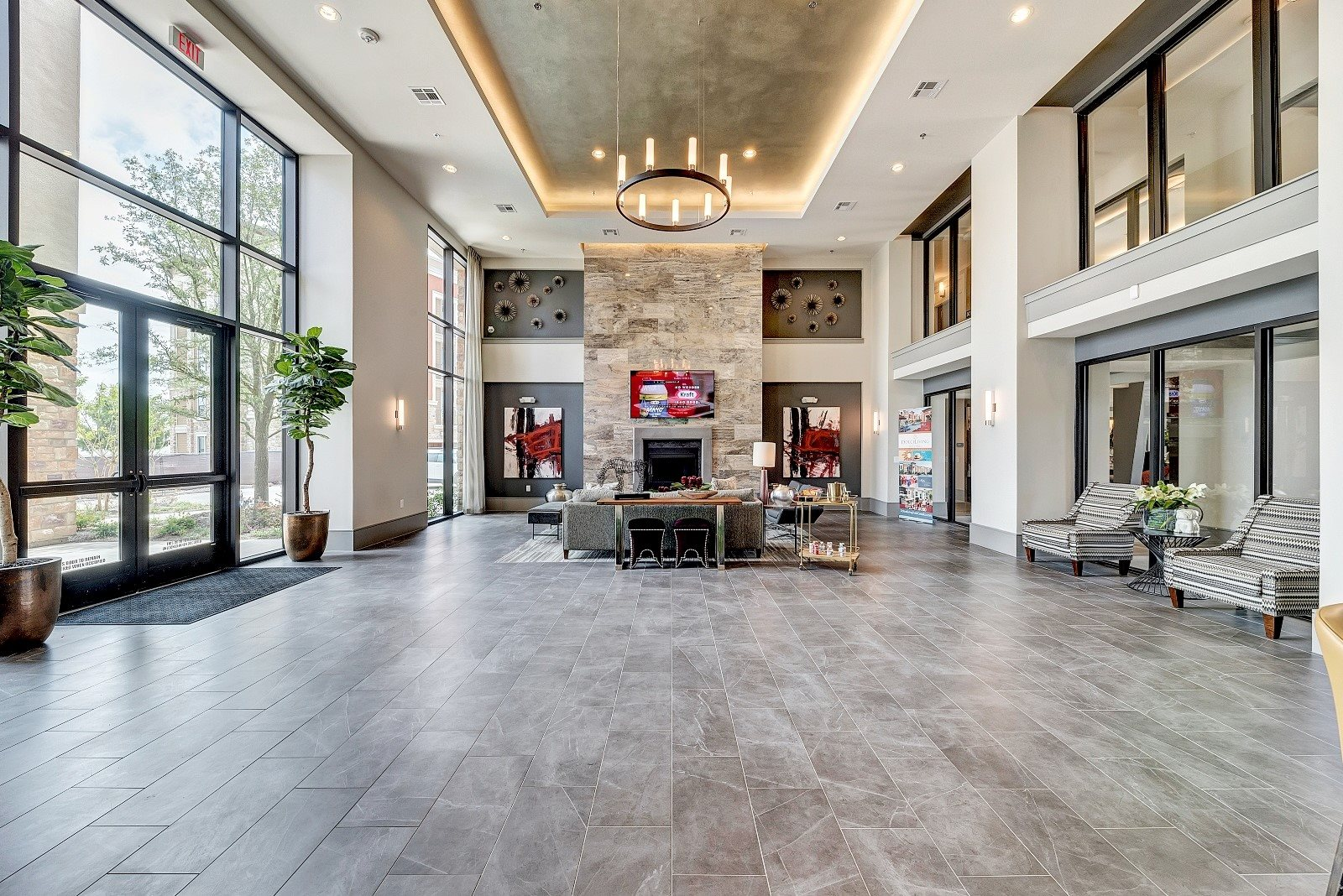 Apartments for rent in Allen TX with a lobby