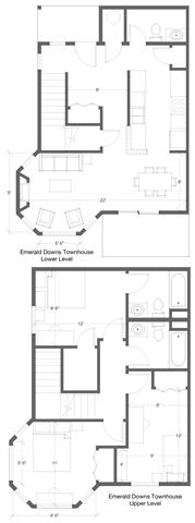 3 Bed 2.5 Bath Floor Plan 6