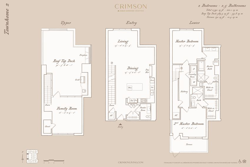 Townhome Floorplan 2