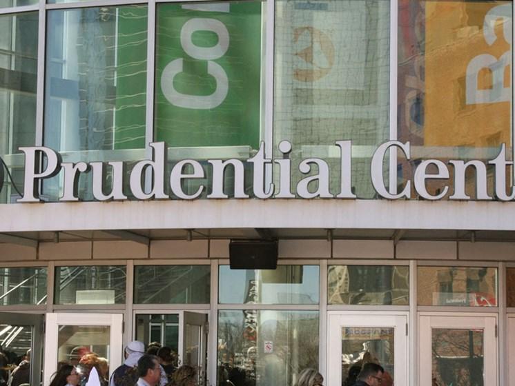 Exterior of Prudential Center