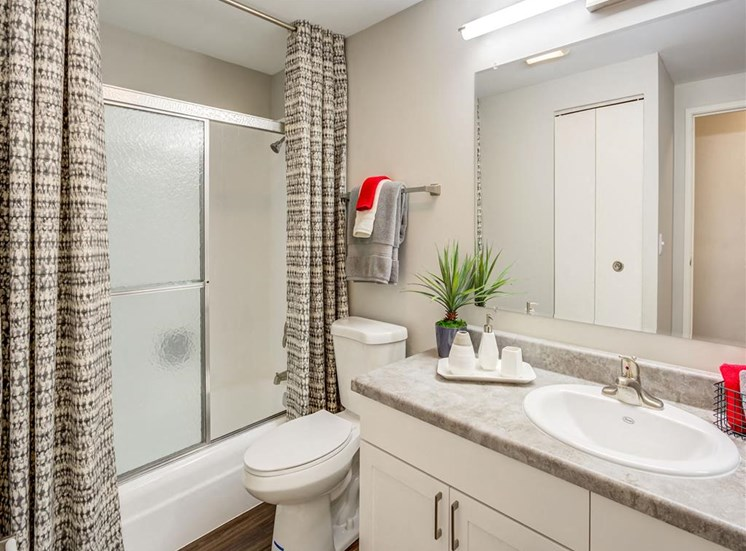 Bathroom  at Orion ParkView, Illinois, 60056
