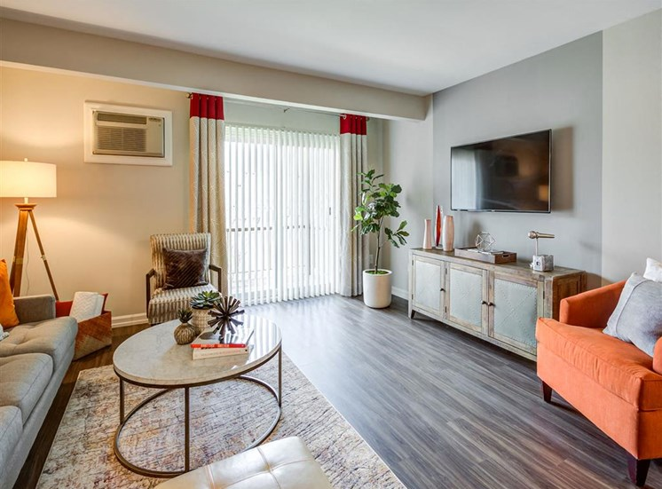 Cozy Living Room  at Orion ParkView, Mount Prospect, 60056