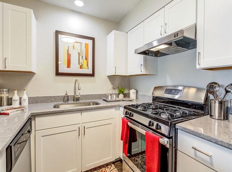 Kitchen at Orion ParkView, Illinois