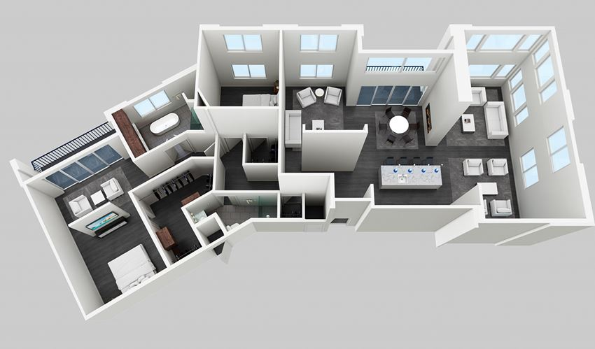 The Masterpiece-2Br 2Ba with Den