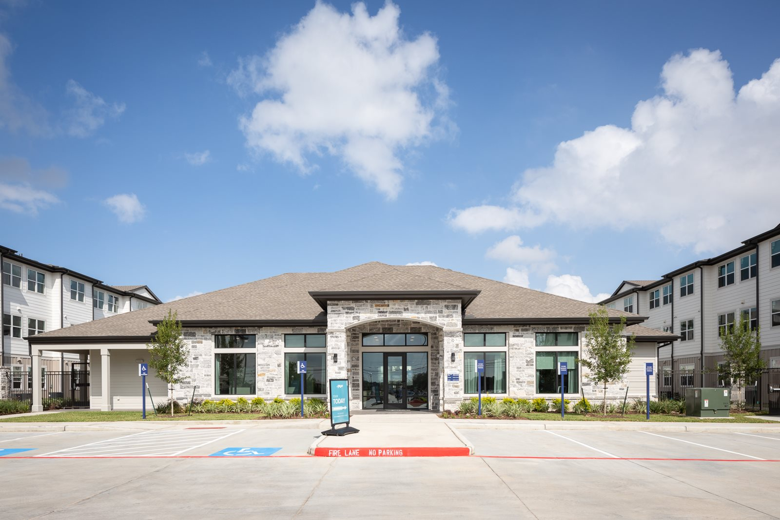 exterior leasing office