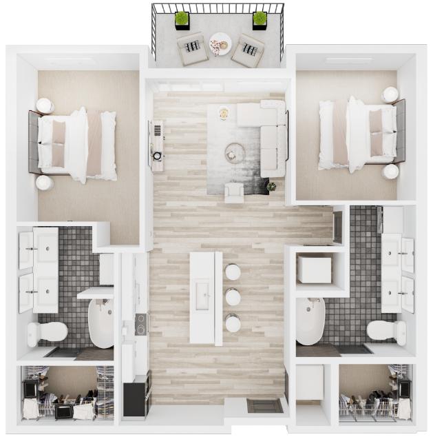B7 Floorplan Layout