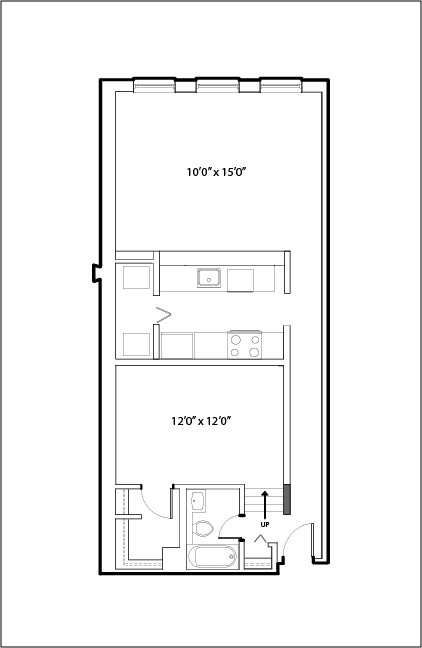 651 South Wells St., Chicago, IL - 1,650 USD/ month