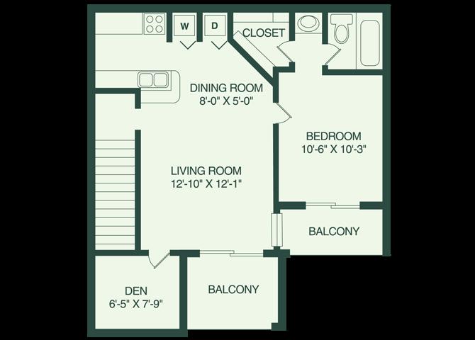 The Brandon A2 Floor Plan 2