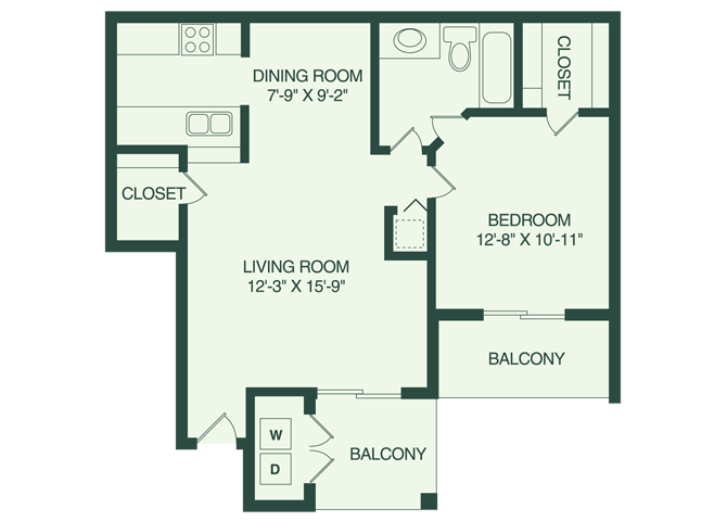 The Tampa A3 Floor Plan 3