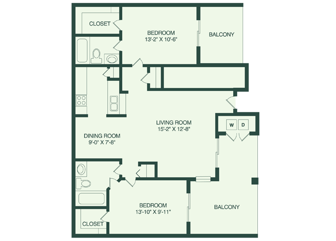 The Clearwater B1 Floor Plan 5