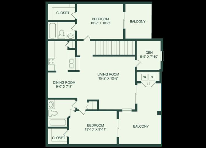 The St Pete B2 Floor Plan 6