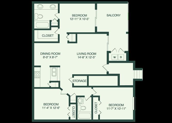 The Keys C3 Floor Plan 9