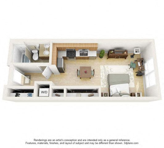 Donzi Studio Floor Plan 1
