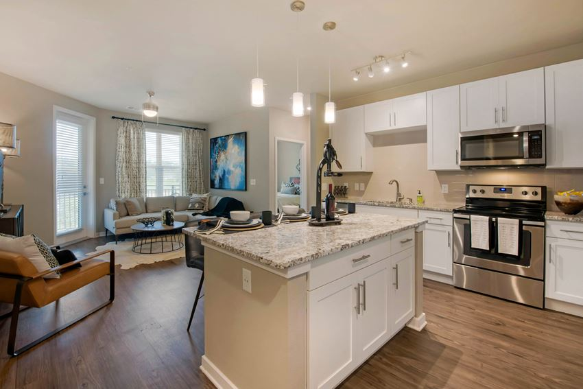 Luxury Kitchen at JTB Apartments in