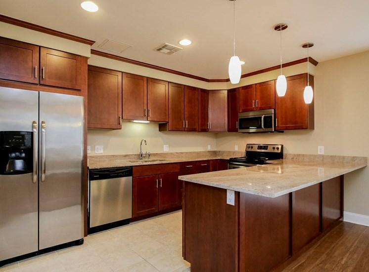 Harbor Hill Apartments interior kitchen