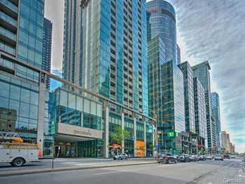 1310-1101 Blvd Rene-Levesque W 2 Beds Apartment for Rent Photo Gallery 1