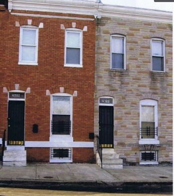 2611 West Fayette Street 3 Beds House for Rent Photo Gallery 1
