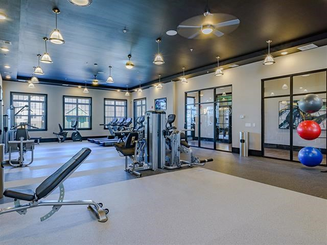State Of The Art Fitness Center at Abberly Square Apartment Homes, Waldorf, MD, 20601