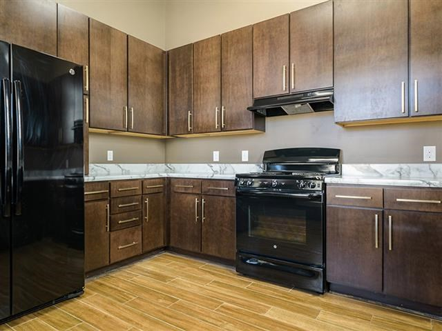 Electric Range In Kitchen at Abberly Square Apartment Homes, Maryland