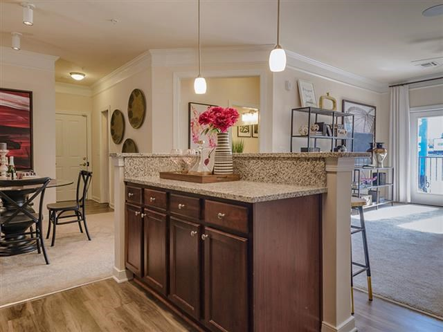 Kitchen Unit at Abberly Square Apartment Homes, Maryland