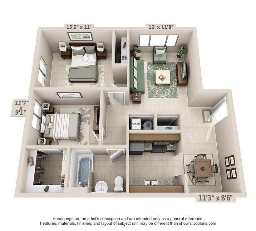 Lovely 2 Bedroom