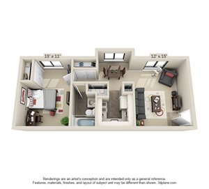 1 Bedroom Apartments For In Columbia Mo
