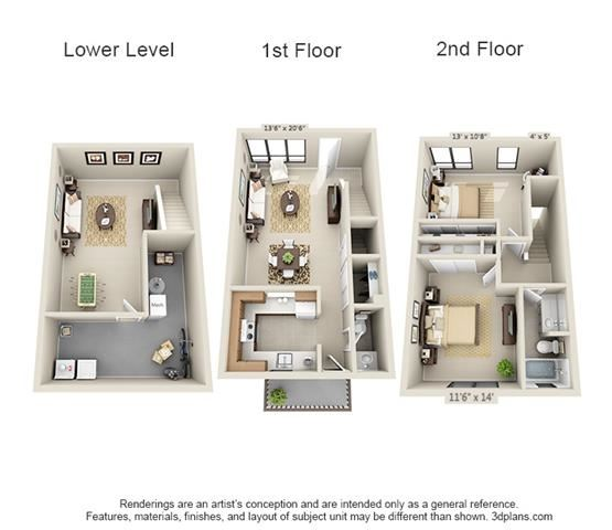 2 Bed TH