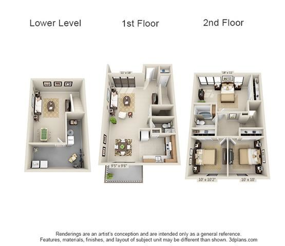 3 Bed TH