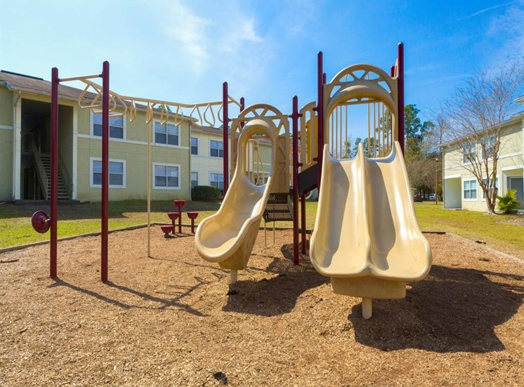 Outdoor Playground at Holly Cove Apartments, Orange Park, FL, 32073