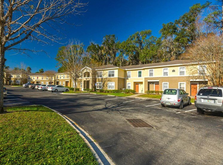 Off Street Parking at Holly Cove Apartments, Florida