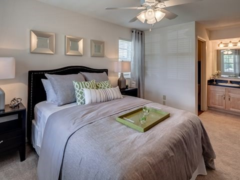 St Johns Plantation model bedroom