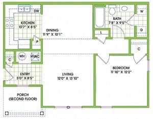 Greenlaw 1 Bedroom Flat