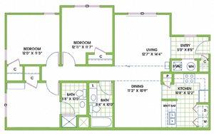 Greenlaw 3 Bedroom Flat