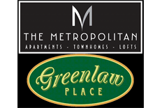 The Metropolitan & Greenlaw Place Apartments Property Logo 0
