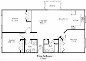 Three Bedroom C