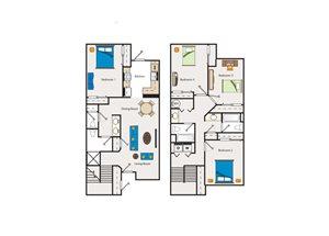 4 BEDROOM TOWNHOME