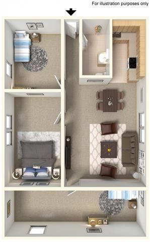 Amherst Floor Plan| Cliffside