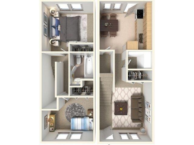 Montague Floor Plan| Cliffside