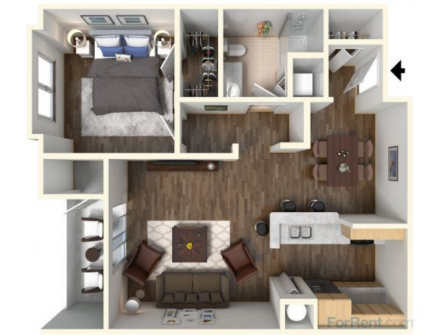 A-1 759 Floor Plan |Faxon Woods