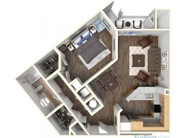 A-4 853 Floor Plan |Faxon Woods