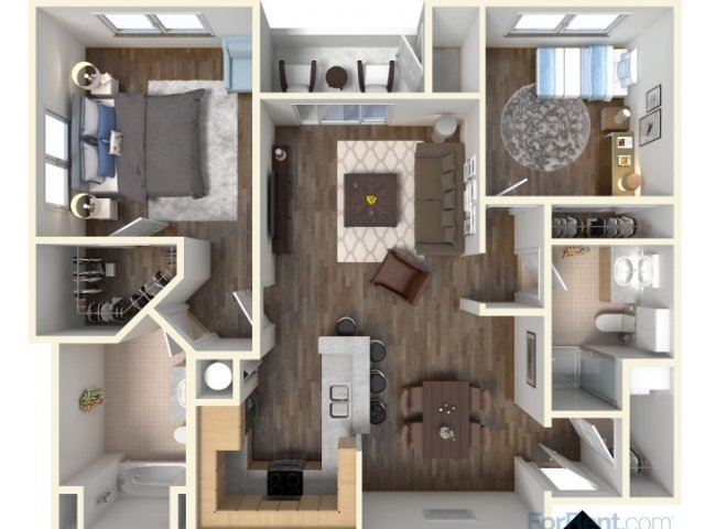 B-2 1045 Floor Plan |Faxon Woods