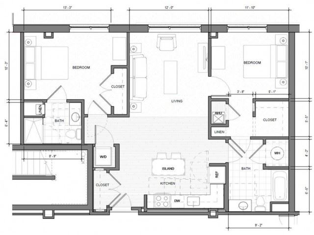BR-J-Level-1 Floor Plan| Merc