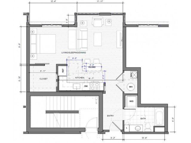 Studio D Floor Plan| Merc