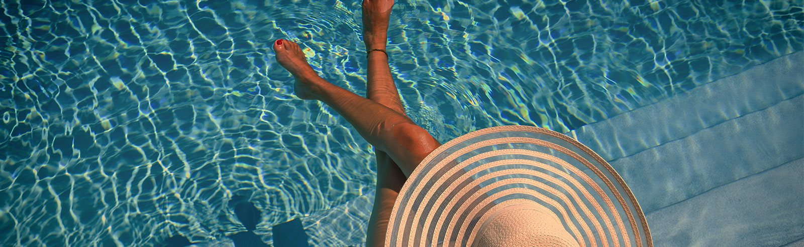 relax poolside at Haven at Uptown