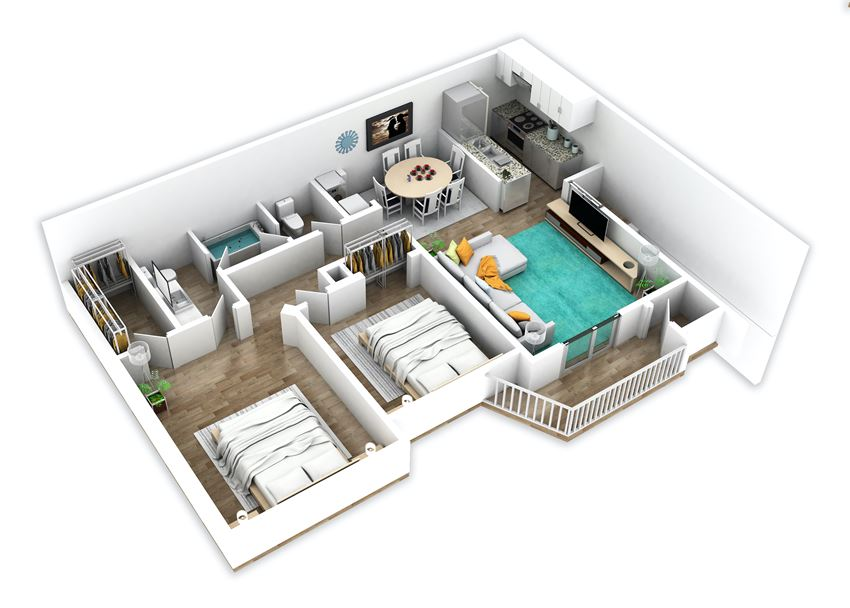 Two Bedroom,