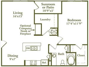 One Bed/One Bath